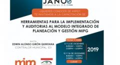 Durante cuatro días, los auditores de la Contraloría Municipal de Valledupar reafirmarán sus conocimientos sobre el Modelo MIPG