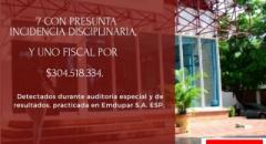 La Contraloría Municipal de Valledupar presenta informe de hallazgos durante auditoría a Emdupar